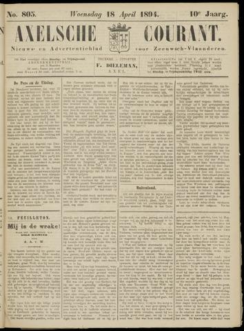 Axelsche Courant 1894-04-18
