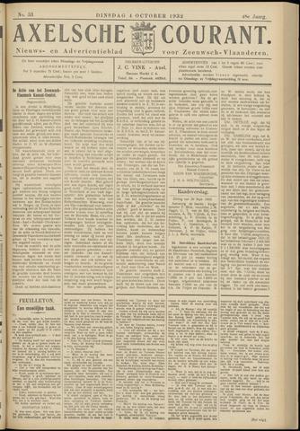 Axelsche Courant 1932-10-04