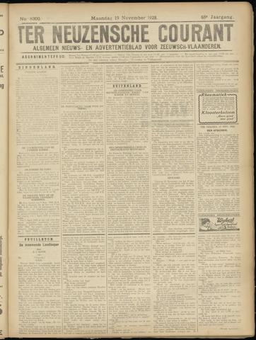 Ter Neuzensche Courant. Algemeen Nieuws- en Advertentieblad voor Zeeuwsch-Vlaanderen / Neuzensche Courant ... (idem) / (Algemeen) nieuws en advertentieblad voor Zeeuwsch-Vlaanderen 1928-11-19