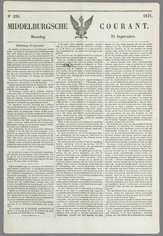 Middelburgsche Courant 1871-09-25