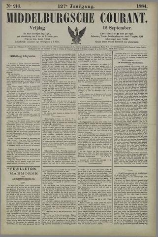 Middelburgsche Courant 1884-09-12