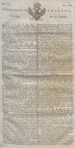 Middelburgsche Courant 1776-08-31