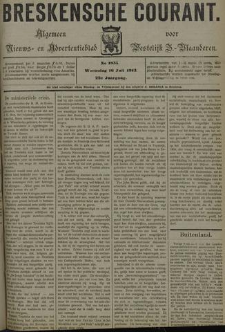 Breskensche Courant 1913-07-16