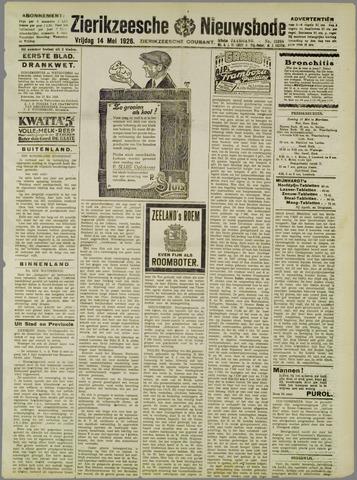 Zierikzeesche Nieuwsbode 1926-05-14