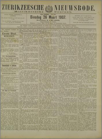 Zierikzeesche Nieuwsbode 1907-03-26