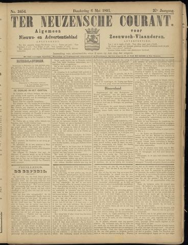 Ter Neuzensche Courant. Algemeen Nieuws- en Advertentieblad voor Zeeuwsch-Vlaanderen / Neuzensche Courant ... (idem) / (Algemeen) nieuws en advertentieblad voor Zeeuwsch-Vlaanderen 1897-05-06