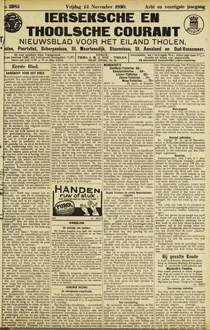 Ierseksche en Thoolsche Courant 1930-11-14