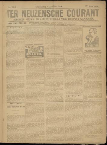 Ter Neuzensche Courant. Algemeen Nieuws- en Advertentieblad voor Zeeuwsch-Vlaanderen / Neuzensche Courant ... (idem) / (Algemeen) nieuws en advertentieblad voor Zeeuwsch-Vlaanderen 1928-01-04