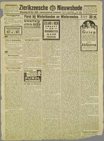 Zierikzeesche Nieuwsbode 1926-12-29