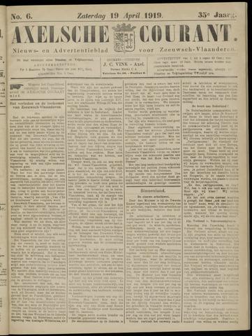 Axelsche Courant 1919-04-19