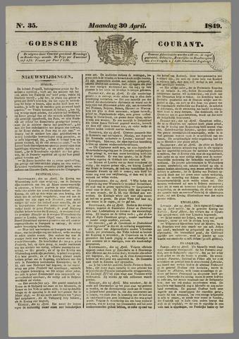 Goessche Courant 1849-04-30