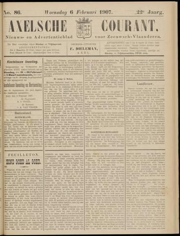 Axelsche Courant 1907-02-06