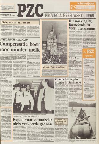 Provinciale Zeeuwse Courant 1986-12-17
