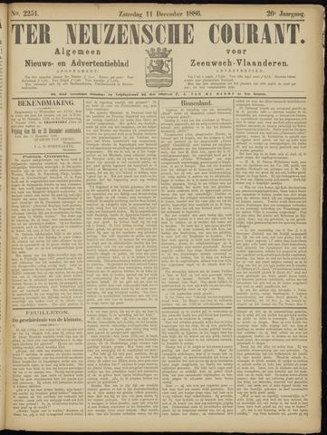 Ter Neuzensche Courant. Algemeen Nieuws- en Advertentieblad voor Zeeuwsch-Vlaanderen / Neuzensche Courant ... (idem) / (Algemeen) nieuws en advertentieblad voor Zeeuwsch-Vlaanderen 1886-12-11