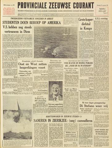 Provinciale Zeeuwse Courant 1963-08-27