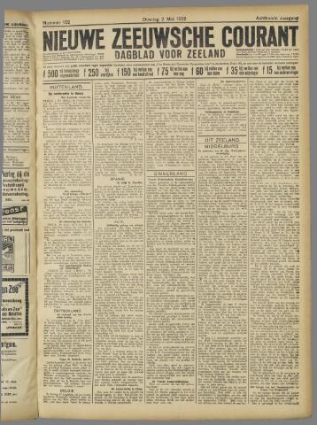 Nieuwe Zeeuwsche Courant 1922-05-02