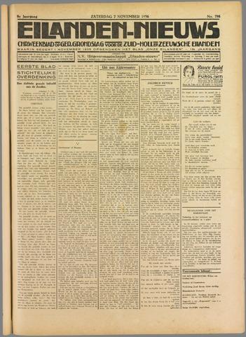 Eilanden-nieuws. Christelijk streekblad op gereformeerde grondslag 1936-11-07