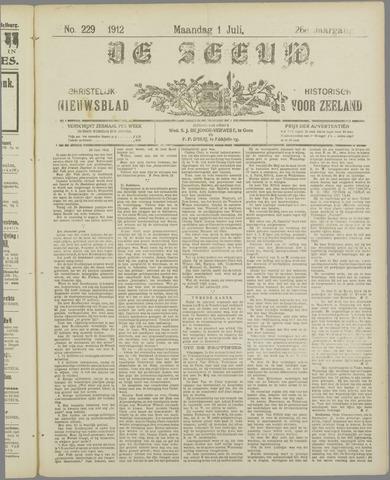 De Zeeuw. Christelijk-historisch nieuwsblad voor Zeeland 1912-07-01