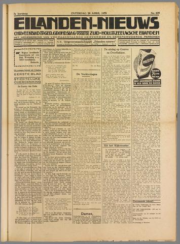 Eilanden-nieuws. Christelijk streekblad op gereformeerde grondslag 1935-04-20