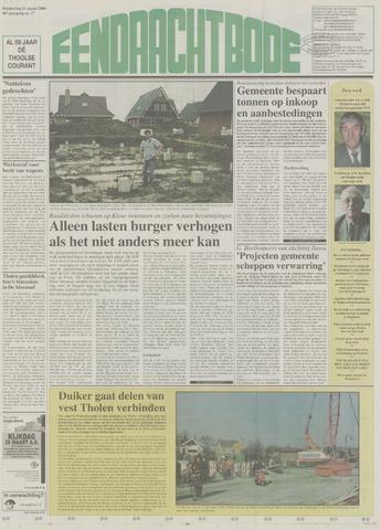 Eendrachtbode (1945-heden)/Mededeelingenblad voor het eiland Tholen (1944/45) 2004-03-11