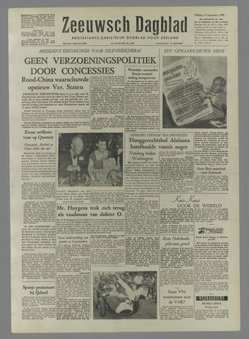 Zeeuwsch Dagblad 1958-09-12