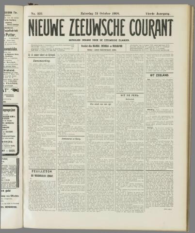 Nieuwe Zeeuwsche Courant 1908-10-24