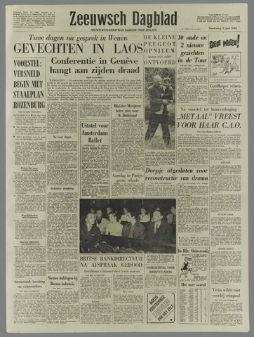 Zeeuwsch Dagblad 1961-06-08
