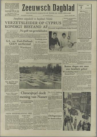 Zeeuwsch Dagblad 1958-08-05