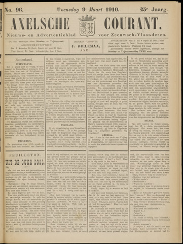 Axelsche Courant 1910-03-09