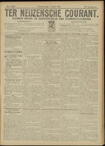 Ter Neuzensche Courant. Algemeen Nieuws- en Advertentieblad voor Zeeuwsch-Vlaanderen / Neuzensche Courant ... (idem) / (Algemeen) nieuws en advertentieblad voor Zeeuwsch-Vlaanderen 1915-04-08