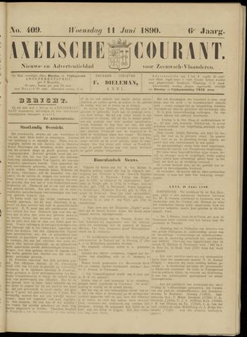Axelsche Courant 1890-06-11