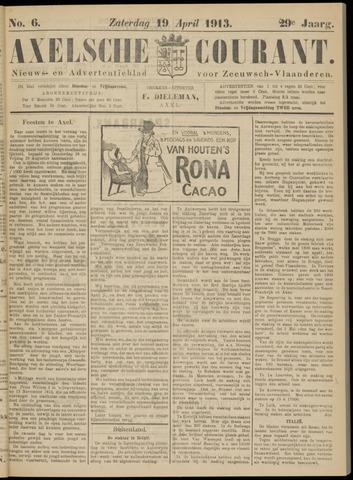 Axelsche Courant 1913-04-19