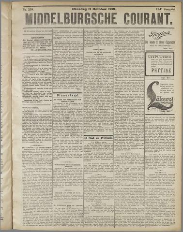 Middelburgsche Courant 1921-10-11