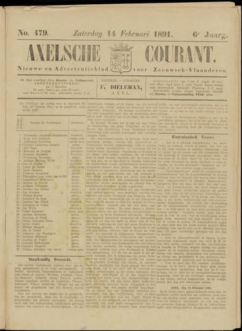 Axelsche Courant 1891-02-14
