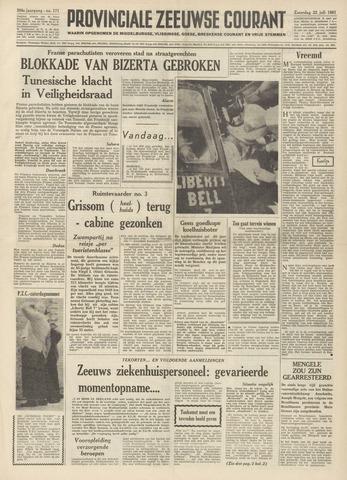 Provinciale Zeeuwse Courant 1961-07-22