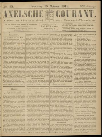 Axelsche Courant 1919-10-15