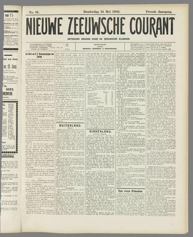 Nieuwe Zeeuwsche Courant 1906-05-24