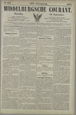 Middelburgsche Courant 1883-09-24