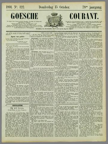 Goessche Courant 1891-10-15