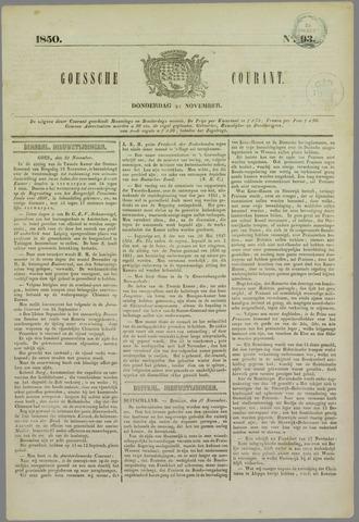 Goessche Courant 1850-11-21