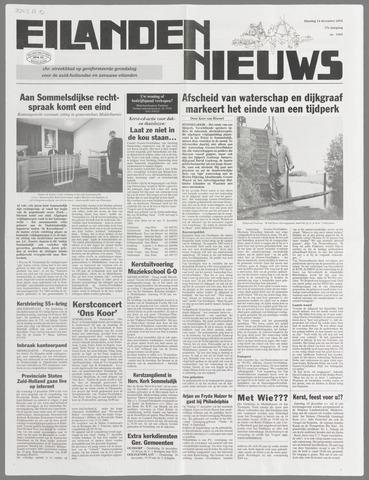 Eilanden-nieuws. Christelijk streekblad op gereformeerde grondslag 2004-12-14