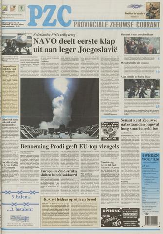 Provinciale Zeeuwse Courant 1999-03-25