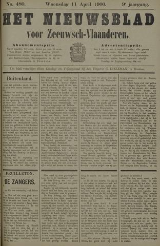Nieuwsblad voor Zeeuwsch-Vlaanderen 1900-04-11