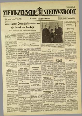 Zierikzeesche Nieuwsbode 1960-04-04