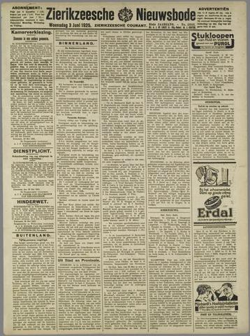 Zierikzeesche Nieuwsbode 1925-06-03