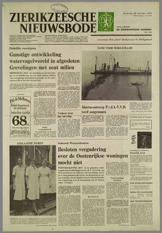 Zierikzeesche Nieuwsbode 1976-09-30