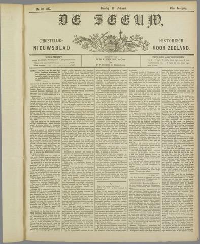 De Zeeuw. Christelijk-historisch nieuwsblad voor Zeeland 1897-02-16