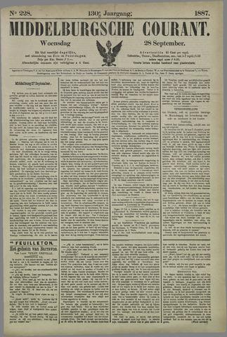 Middelburgsche Courant 1887-09-28