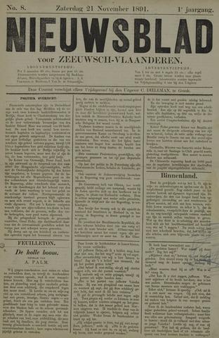 Nieuwsblad voor Zeeuwsch-Vlaanderen 1891-11-21