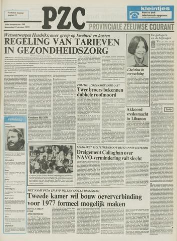 Provinciale Zeeuwse Courant 1976-10-27
